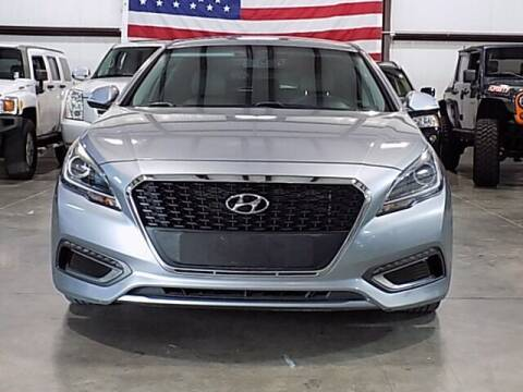 2016 Hyundai Sonata Hybrid for sale at Texas Motor Sport in Houston TX