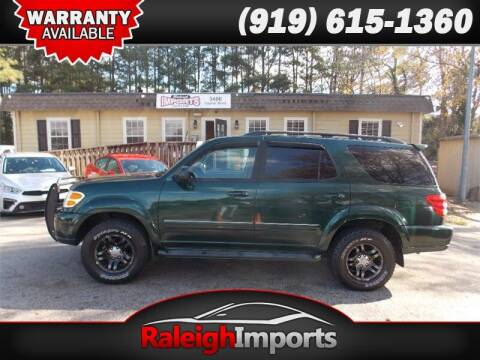 2003 Toyota Sequoia for sale at Raleigh Imports in Raleigh NC