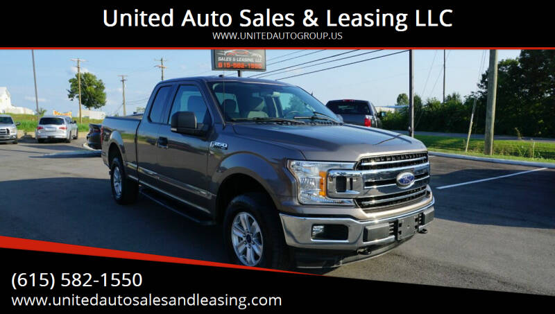 2018 Ford F-150 for sale at United Auto Sales & Leasing LLC in La Vergne TN