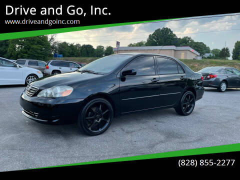 2007 Toyota Corolla for sale at Drive and Go, Inc. in Hickory NC