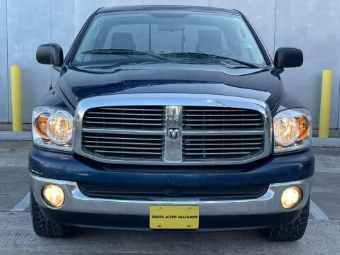2008 Dodge Ram Pickup 1500 for sale at Delta Auto Alliance in Houston TX