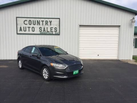 2016 Ford Fusion for sale at COUNTRY AUTO SALES LLC in Greenville OH