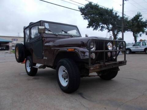 1976 Jeep Wrangler for sale at Classic Car Deals in Cadillac MI