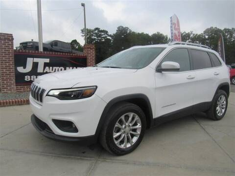 2019 Jeep Cherokee for sale at J T Auto Group in Sanford NC