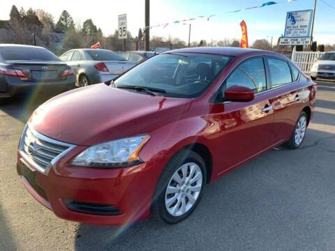 2013 Nissan Sentra for sale at RABI AUTO SALES LLC in Garden City ID