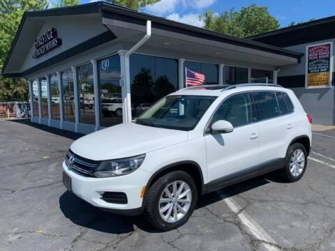 2017 Volkswagen Tiguan for sale at Prestige Pre - Owned Motors in New Windsor NY