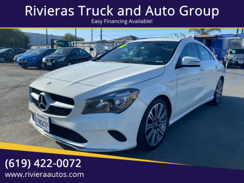 2018 Mercedes-Benz CLA for sale at Rivieras Truck and Auto Group in Chula Vista CA