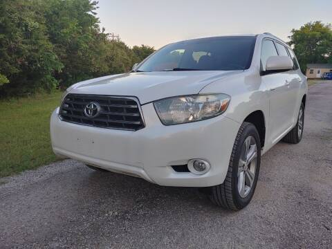 2009 Toyota Highlander for sale at The Car Shed in Burleson TX