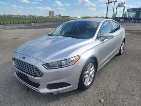 2015 Ford Fusion for sale at CHAD AUTO SALES in Bridgeton MO