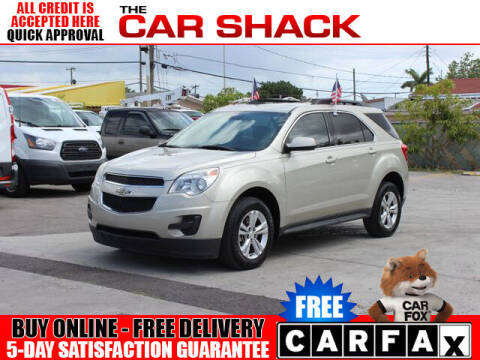 2015 Chevrolet Equinox for sale at The Car Shack in Hialeah FL