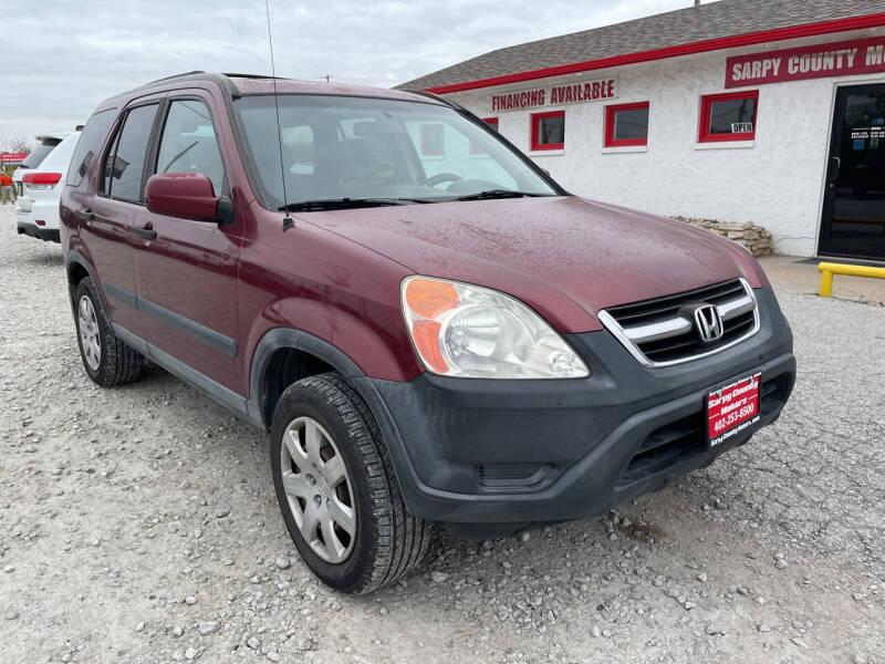 2004 Honda CR-V for sale at Sarpy County Motors in Springfield NE