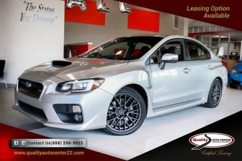 2017 Subaru WRX for sale at Quality Auto Center in Springfield NJ
