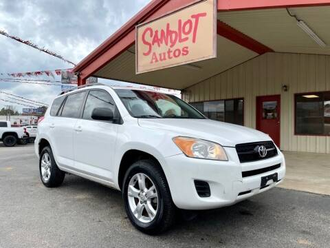2011 Toyota RAV4 for sale at Sandlot Autos in Tyler TX