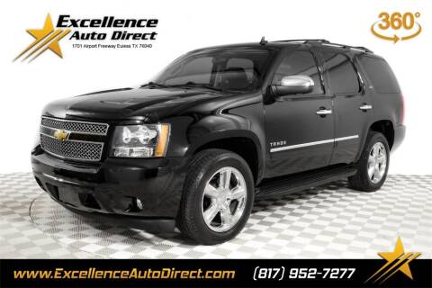 2013 Chevrolet Tahoe for sale at Excellence Auto Direct in Euless TX