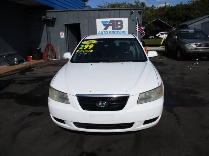 2008 Hyundai Sonata for sale at AUTO BROKERS OF ORLANDO in Orlando FL