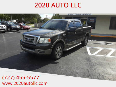 2005 Ford F-150 for sale at 2020 AUTO LLC in Clearwater FL