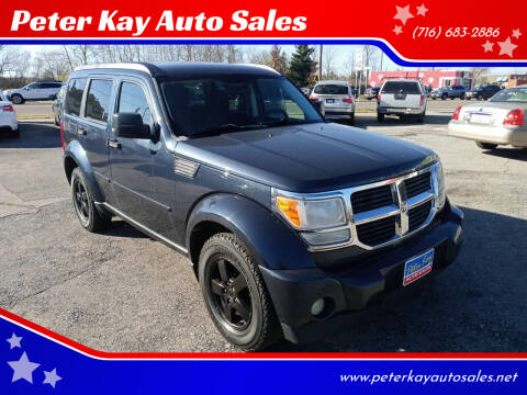 2008 Dodge Nitro for sale at Peter Kay Auto Sales in Alden NY