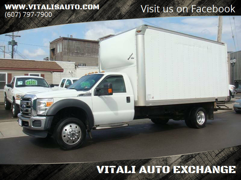 2015 Ford F-550 Super Duty for sale at VITALI AUTO EXCHANGE in Johnson City NY
