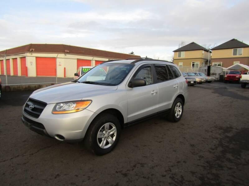2009 Hyundai Santa Fe for sale at ARISTA CAR COMPANY LLC in Portland OR