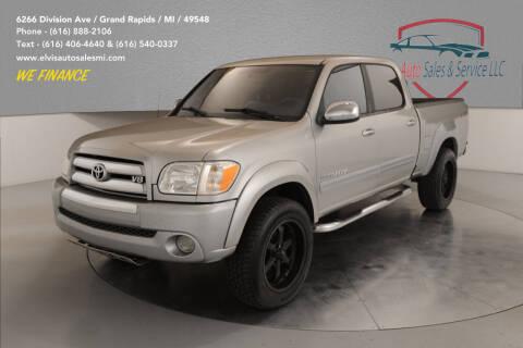 2006 Toyota Tundra for sale at Elvis Auto Sales LLC in Grand Rapids MI