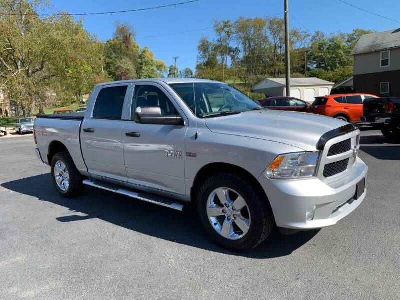 2017 RAM Ram Pickup 1500 for sale at Twin Rocks Auto Sales LLC in Uniontown PA