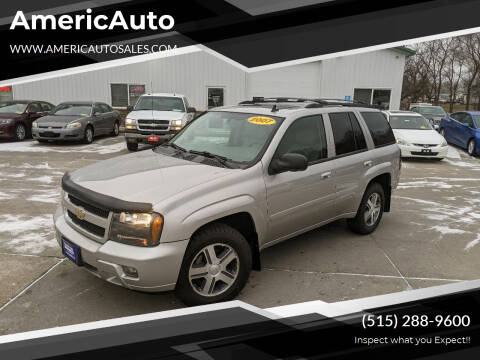 2007 Chevrolet TrailBlazer for sale at AmericAuto in Des Moines IA