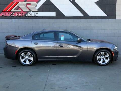 2015 Dodge Charger for sale at Auto Republic Fullerton in Fullerton CA