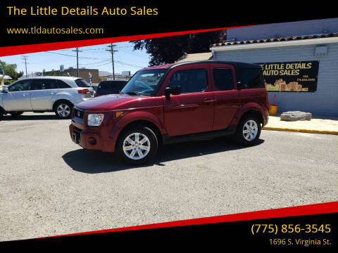 2006 Honda Element for sale at The Little Details Auto Sales in Reno NV