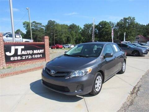 2011 Toyota Corolla for sale at J T Auto Group in Sanford NC