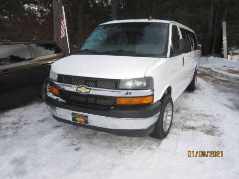 2017 Chevrolet Express Passenger for sale at SUNNYBROOK USED CARS in Menahga MN