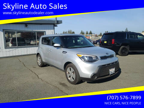 2015 Kia Soul for sale at Skyline Auto Sales in Santa Rosa CA