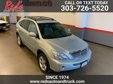 2008 Lexus RX 400h for sale at Red's Auto and Truck in Longmont CO