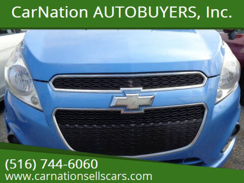 2013 Chevrolet Spark for sale at CarNation AUTOBUYERS, Inc. in Rockville Centre NY