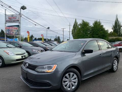 2014 Volkswagen Jetta for sale at Real Deal Cars in Everett WA