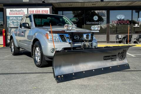 2012 Nissan Frontier for sale at Michaels Auto Plaza in East Greenbush NY