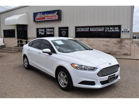 2013 Ford Fusion for sale at Chaparral Motors in Lubbock TX