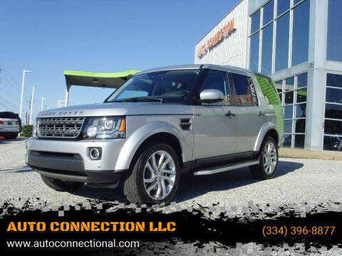 2016 Land Rover LR4 for sale at AUTO CONNECTION LLC in Montgomery AL