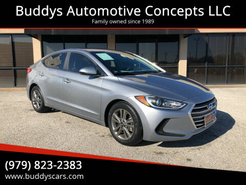 2017 Hyundai Elantra for sale at Buddys Automotive Concepts LLC in Bryan TX