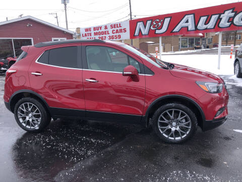 2019 Buick Encore for sale at N & J Auto Sales in Warsaw IN