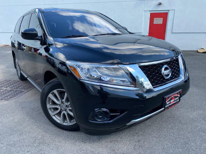 2015 Nissan Pathfinder for sale at JerseyMotorsInc.com in Teterboro NJ
