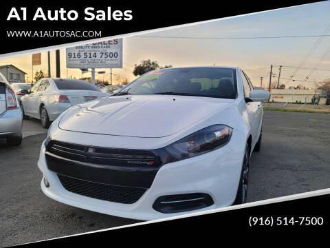 2016 Dodge Dart for sale at A1 Auto Sales in Sacramento CA