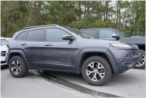 2014 Jeep Cherokee for sale at WHITE MOTORS INC in Roanoke Rapids NC