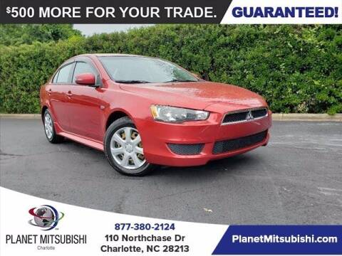 2015 Mitsubishi Lancer for sale at Planet Automotive Group in Charlotte NC