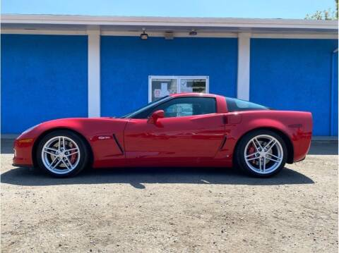 2006 Chevrolet Corvette for sale at Khodas Cars in Gilroy CA