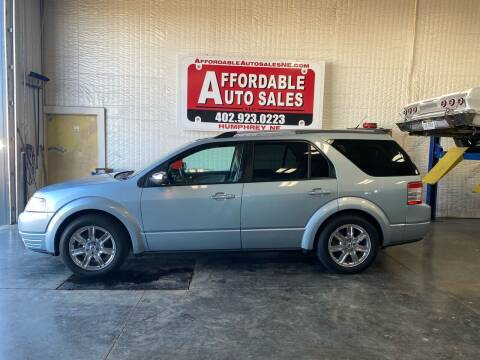 2008 Ford Taurus X for sale at Affordable Auto Sales in Humphrey NE