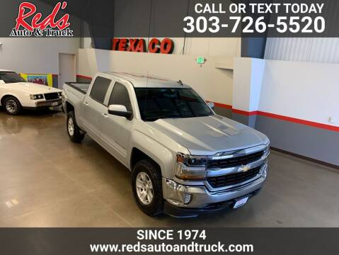 2016 Chevrolet Silverado 1500 for sale at Red's Auto and Truck in Longmont CO