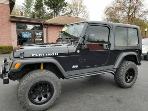 2005 Jeep Wrangler for sale at R C Motors in Lunenburg MA