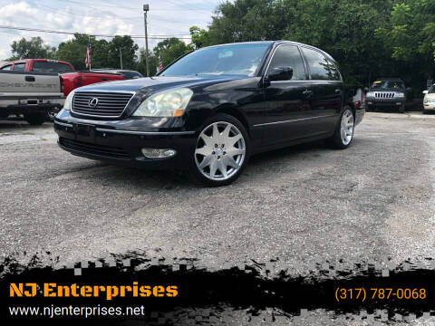 2003 Lexus LS 430 for sale at NJ Enterprises in Indianapolis IN