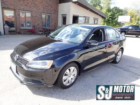 2011 Volkswagen Jetta for sale at S & J Motor Co Inc. in Merrimack NH