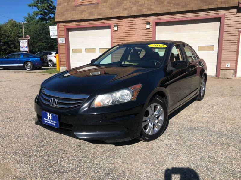 2011 Honda Accord for sale at Hornes Auto Sales LLC in Epping NH